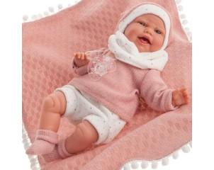 MUÑECA Clara con manta