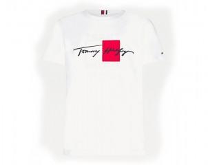 Camiseta Tommy Hilfiger corte amplio con logo