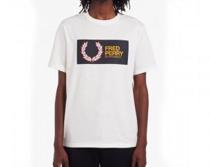 Camiseta Con Logotipo Fred Perry Sportswear