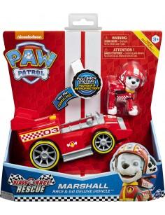 VEHICULO PAW PATROL MARSHALL RACE & GO