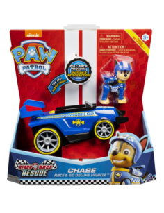 VEHICULO PAW PATROL CHASE RACE & GO