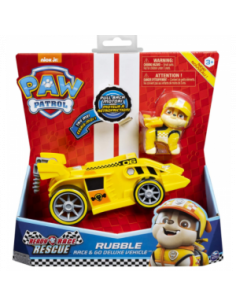 VEHICULO PAW PATROL RUBBLE RACE & GO