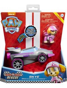 VEHICULO PAW PATROL SKYE RACE & GO