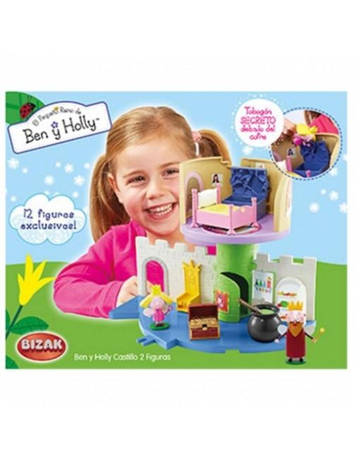 Castillo Mágico Ben y Holly C/2 figuras