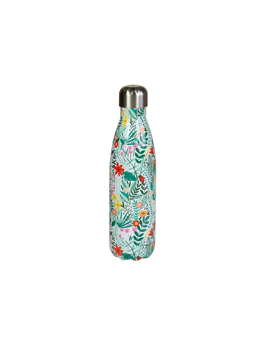 Botella termo de metal botanic-47984
