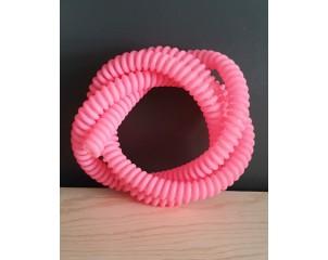 Manguera de Silicona Espiral Roja