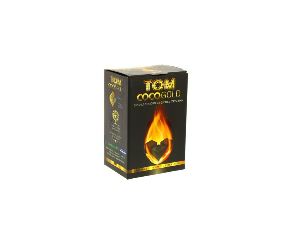 Tom Cococha Gold 1Kg Carbón Natural