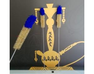 Cepillo limpiador de Cachimba con punta azul