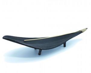 Soporte de stick-coco negro