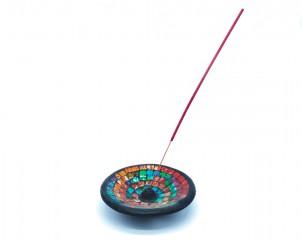 quemador de incienso diseño circular