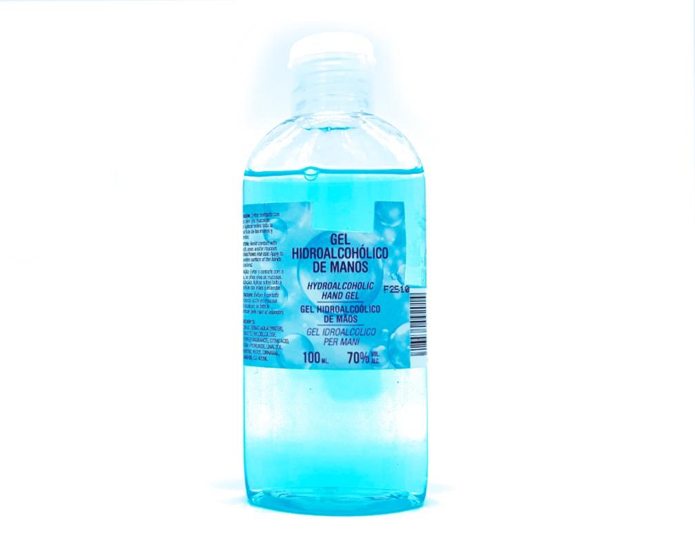 Gel Hidro-Alcoholico de manos.(100ml)