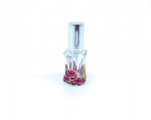 Perfumador Diseño Floral color Rosa