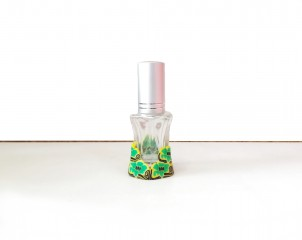 Perfumador Diseño Floral Verde