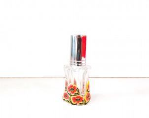 Perfumador Diseño Floral Color Naranja