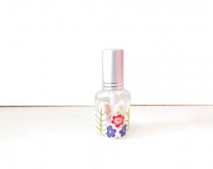 Perfumador Diseño Flores Salmón /Morado