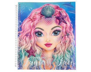 Cuaderno Create Your Fantasy Face Top Model