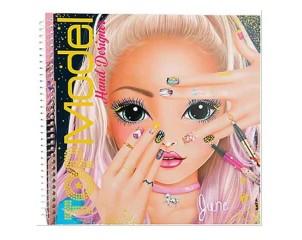 Cuaderno Diseña Uñas Top Model